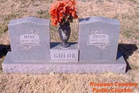 GOLOB, MARY - Pueblo County, Colorado | MARY GOLOB - Colorado Gravestone Photos