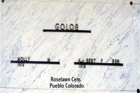 GOLOB, MOLLY M. - Pueblo County, Colorado | MOLLY M. GOLOB - Colorado Gravestone Photos