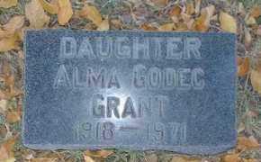 GRANT, ALMA - Pueblo County, Colorado | ALMA GRANT - Colorado Gravestone Photos