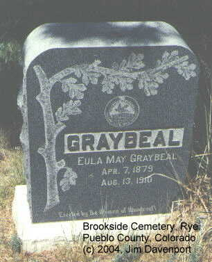 GRAYBEAL, EULA MAY - Pueblo County, Colorado | EULA MAY GRAYBEAL - Colorado Gravestone Photos
