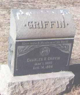 GRIFFIN, CHARLES R. - Pueblo County, Colorado   CHARLES R. GRIFFIN - Colorado Gravestone Photos