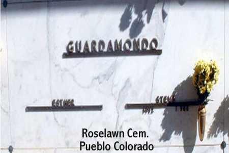 GUARAMONDO, STEVE - Pueblo County, Colorado | STEVE GUARAMONDO - Colorado Gravestone Photos