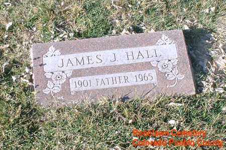 HALL, JAMES J. - Pueblo County, Colorado | JAMES J. HALL - Colorado Gravestone Photos