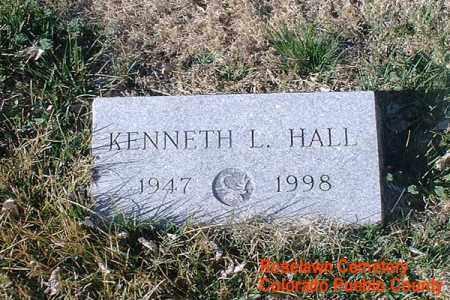 HALL, KENNETH L. - Pueblo County, Colorado | KENNETH L. HALL - Colorado Gravestone Photos