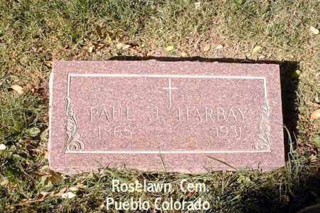 HARBAY, PAUL J. - Pueblo County, Colorado | PAUL J. HARBAY - Colorado Gravestone Photos