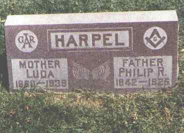 HARPEL, PHILIP R. - Pueblo County, Colorado | PHILIP R. HARPEL - Colorado Gravestone Photos