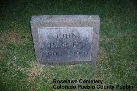 HEGLER, JOHN - Pueblo County, Colorado | JOHN HEGLER - Colorado Gravestone Photos