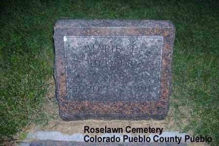 HEGLER, MARIE E. - Pueblo County, Colorado | MARIE E. HEGLER - Colorado Gravestone Photos