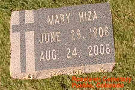 HIZA, MARY - Pueblo County, Colorado | MARY HIZA - Colorado Gravestone Photos