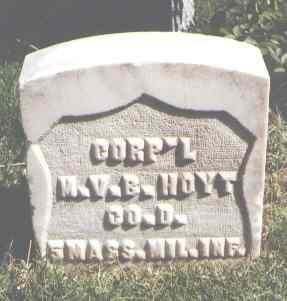 HOYT, M. V. B. - Pueblo County, Colorado | M. V. B. HOYT - Colorado Gravestone Photos