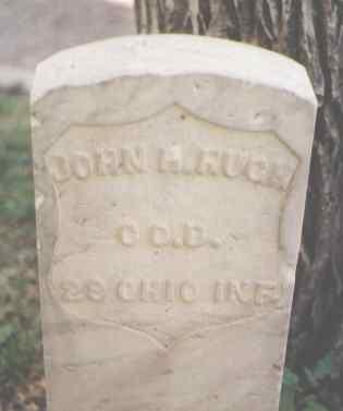 HUGH, JOHN H. - Pueblo County, Colorado | JOHN H. HUGH - Colorado Gravestone Photos