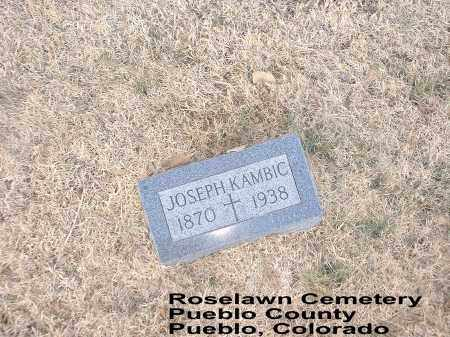 KAMBIC, JOSEPH - Pueblo County, Colorado | JOSEPH KAMBIC - Colorado Gravestone Photos