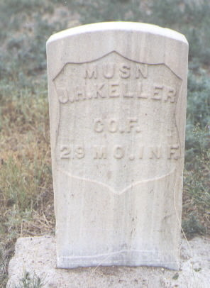 KELLER, JOHN H. - Pueblo County, Colorado | JOHN H. KELLER - Colorado Gravestone Photos