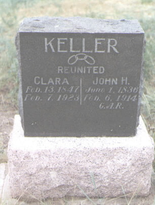 KELLER, CLARA - Pueblo County, Colorado | CLARA KELLER - Colorado Gravestone Photos