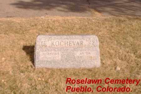KOCHEVAR, ANTON - Pueblo County, Colorado | ANTON KOCHEVAR - Colorado Gravestone Photos