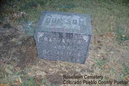 KOSS, RAPHAEL B. - Pueblo County, Colorado   RAPHAEL B. KOSS - Colorado Gravestone Photos