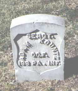 KOUNTZ, ADAM - Pueblo County, Colorado   ADAM KOUNTZ - Colorado Gravestone Photos