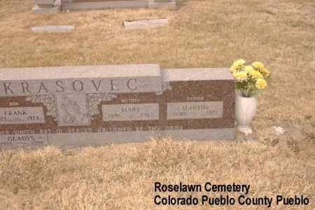 KRASOVEC, MARTIN - Pueblo County, Colorado   MARTIN KRASOVEC - Colorado Gravestone Photos