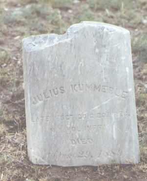 KUMMERLE, JULIUS - Pueblo County, Colorado | JULIUS KUMMERLE - Colorado Gravestone Photos