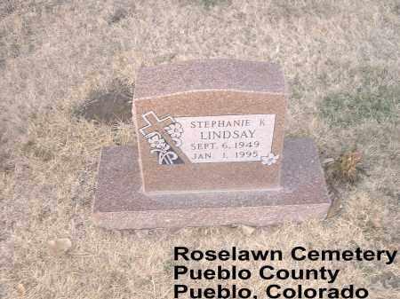 LINDSAY, STEPHANIE K. - Pueblo County, Colorado | STEPHANIE K. LINDSAY - Colorado Gravestone Photos