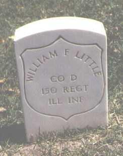 LITTLE, WILLIAM F. - Pueblo County, Colorado | WILLIAM F. LITTLE - Colorado Gravestone Photos