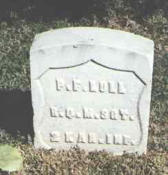 LULL, P. F. - Pueblo County, Colorado | P. F. LULL - Colorado Gravestone Photos