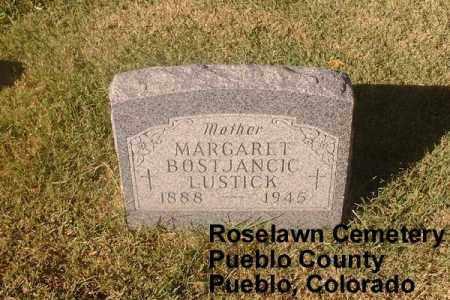 LUSTICK, MARGARET - Pueblo County, Colorado   MARGARET LUSTICK - Colorado Gravestone Photos