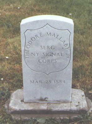 MALLABY JR.,, THEODORE - Pueblo County, Colorado   THEODORE MALLABY JR., - Colorado Gravestone Photos