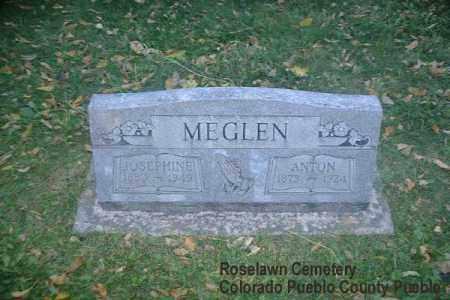 MEGLEN, JOSEPHINE - Pueblo County, Colorado   JOSEPHINE MEGLEN - Colorado Gravestone Photos