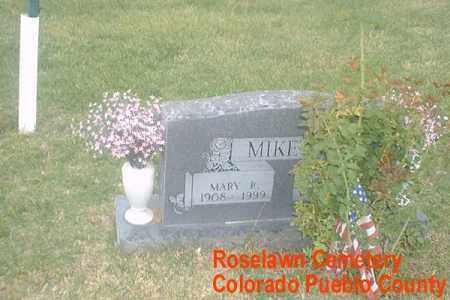 MIKETA, MARY R. - Pueblo County, Colorado | MARY R. MIKETA - Colorado Gravestone Photos