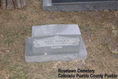 MIKLICH, MARY - Pueblo County, Colorado | MARY MIKLICH - Colorado Gravestone Photos