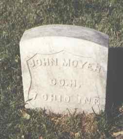 MOYER, JOHN - Pueblo County, Colorado   JOHN MOYER - Colorado Gravestone Photos