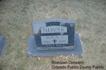 NOVAK, ANTON J. - Pueblo County, Colorado | ANTON J. NOVAK - Colorado Gravestone Photos