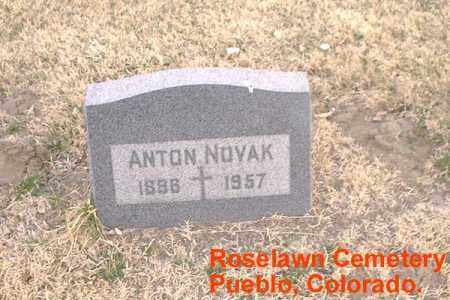 NOVAK, ANTON - Pueblo County, Colorado | ANTON NOVAK - Colorado Gravestone Photos