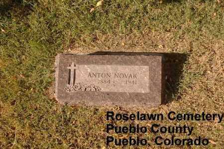 NOVAK, ANTON - Pueblo County, Colorado | ANTON NOVAK - Colorado Gravestone Photos