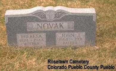 NOVAK, THERESA - Pueblo County, Colorado | THERESA NOVAK - Colorado Gravestone Photos
