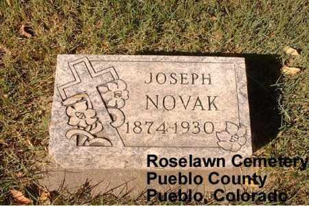 NOVAK, JOSEPH - Pueblo County, Colorado | JOSEPH NOVAK - Colorado Gravestone Photos