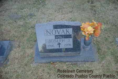 NOVAK, JOSEPH J. - Pueblo County, Colorado | JOSEPH J. NOVAK - Colorado Gravestone Photos