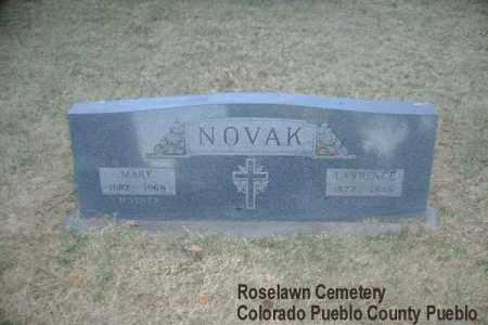 NOVAK, LAWRENCE - Pueblo County, Colorado | LAWRENCE NOVAK - Colorado Gravestone Photos