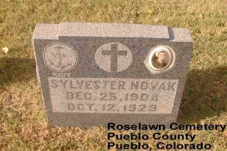 NOVAK, SLYVESTER - Pueblo County, Colorado | SLYVESTER NOVAK - Colorado Gravestone Photos