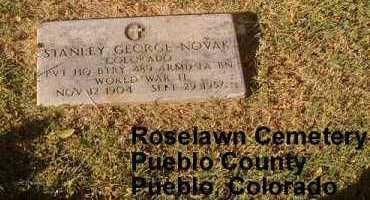 NOVAK, STANLEY GEORGE - Pueblo County, Colorado | STANLEY GEORGE NOVAK - Colorado Gravestone Photos