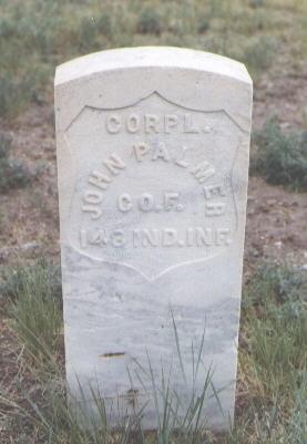 PALMER, JOHN - Pueblo County, Colorado   JOHN PALMER - Colorado Gravestone Photos