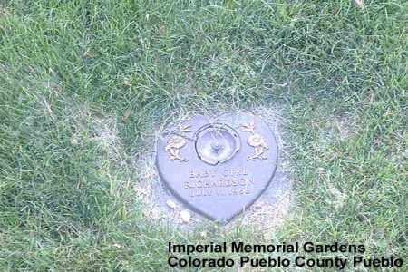 RICHARDSON, BABY GIRL - Pueblo County, Colorado | BABY GIRL RICHARDSON - Colorado Gravestone Photos