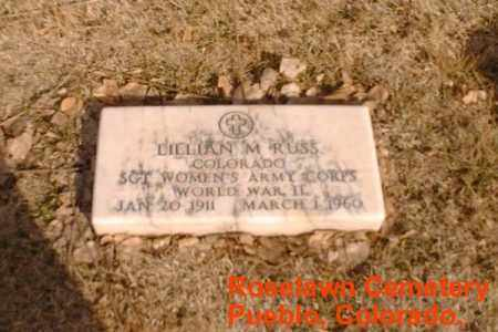 RUSS, LILLIAN M. - Pueblo County, Colorado | LILLIAN M. RUSS - Colorado Gravestone Photos