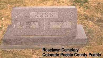 RUSS, FRANK S. - Pueblo County, Colorado | FRANK S. RUSS - Colorado Gravestone Photos
