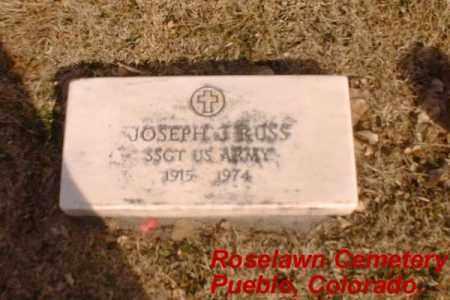 RUSS, JOSEPH J - Pueblo County, Colorado | JOSEPH J RUSS - Colorado Gravestone Photos