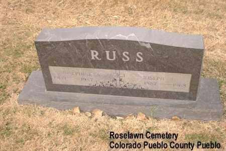 RUSS, JOSEPHINE A. - Pueblo County, Colorado | JOSEPHINE A. RUSS - Colorado Gravestone Photos