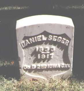 SEGER, DANIEL - Pueblo County, Colorado | DANIEL SEGER - Colorado Gravestone Photos