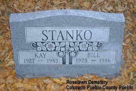 STANKO, BILL - Pueblo County, Colorado | BILL STANKO - Colorado Gravestone Photos