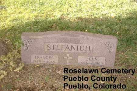 STEFANICH, JOHN - Pueblo County, Colorado | JOHN STEFANICH - Colorado Gravestone Photos